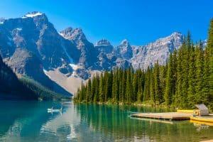 A la découverte des lacs du Canada