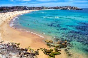Lors de votre Working Holiday en Australie, rendez vous à Bondi Beach