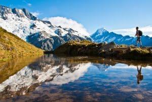 Profitez de votre passage à Mont Cook pour y faire une randonnée incroyable.