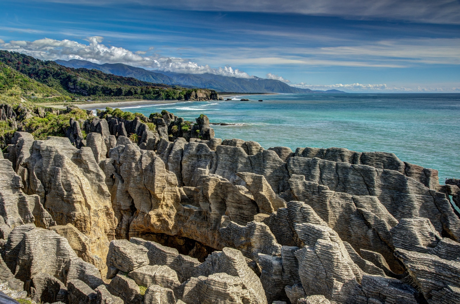 Pancake Rocks - West Coast - Nouvelle Zélande