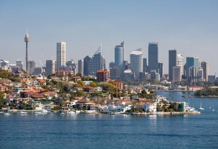 La Sydney skyline se situe à Watson Bay