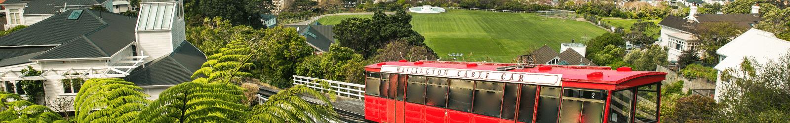 Le Wellington Cable Car est sans aucun doute le moyen le plus original de visiter la ville.