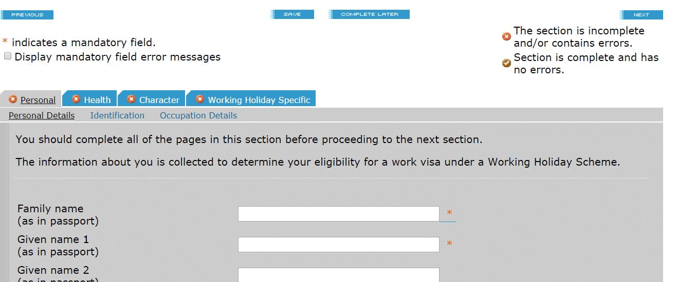 Suivez notre tutoriel dédié au vvt Nouvelle-Zélande pour remplir votre demande