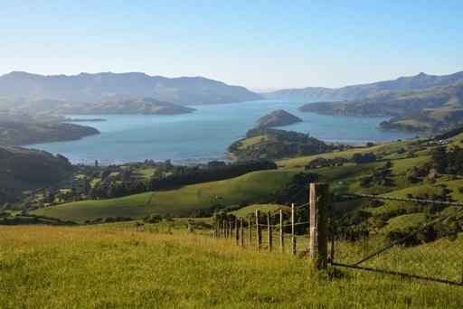 Akaroa en nouvelle-zélande, un jolie spot