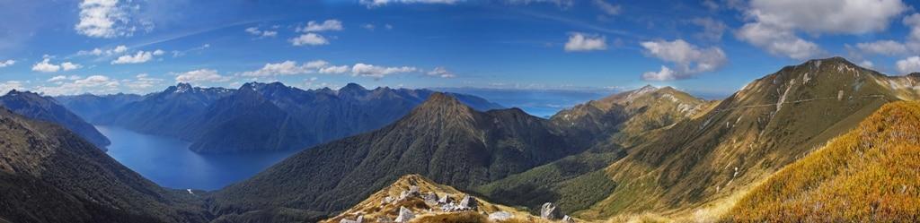 L'île du Sud de la Nouvelle-Zélande