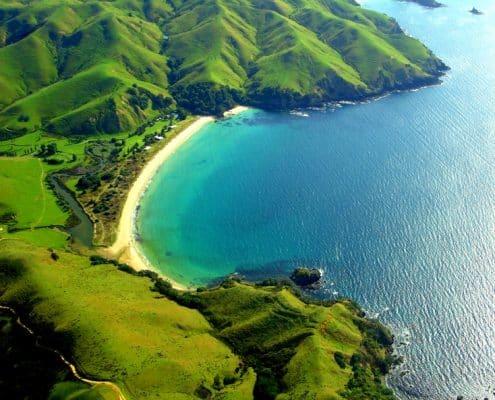 Bay of Islands est une région magnifique au Nord d'Auckland en Nouvelle-Zélande