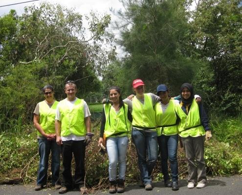 chantiers nature : your team of volunteers