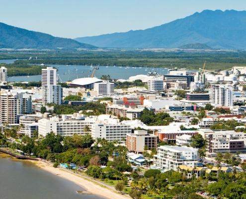 Cairns : vue aérienne